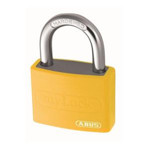 Hængelås med nøgle
