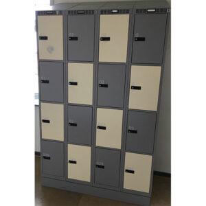 Garderobeboks med 16 rum